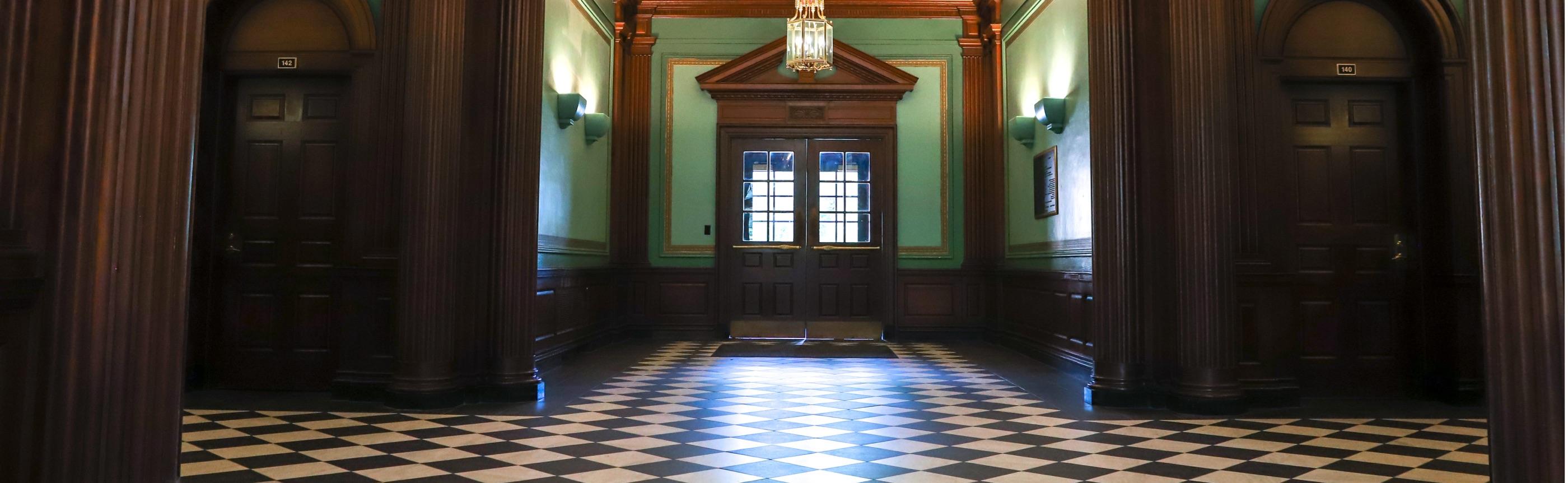 James Blair Hallway