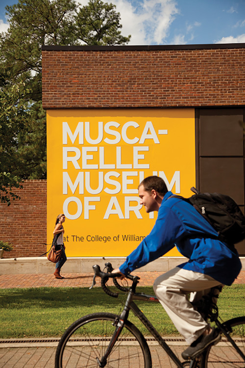 Let's Get Together: The Muscarelle Museum is an integrated part of academic life across all disciplines, offering first-hand research through collections and traveling exhibitions.
