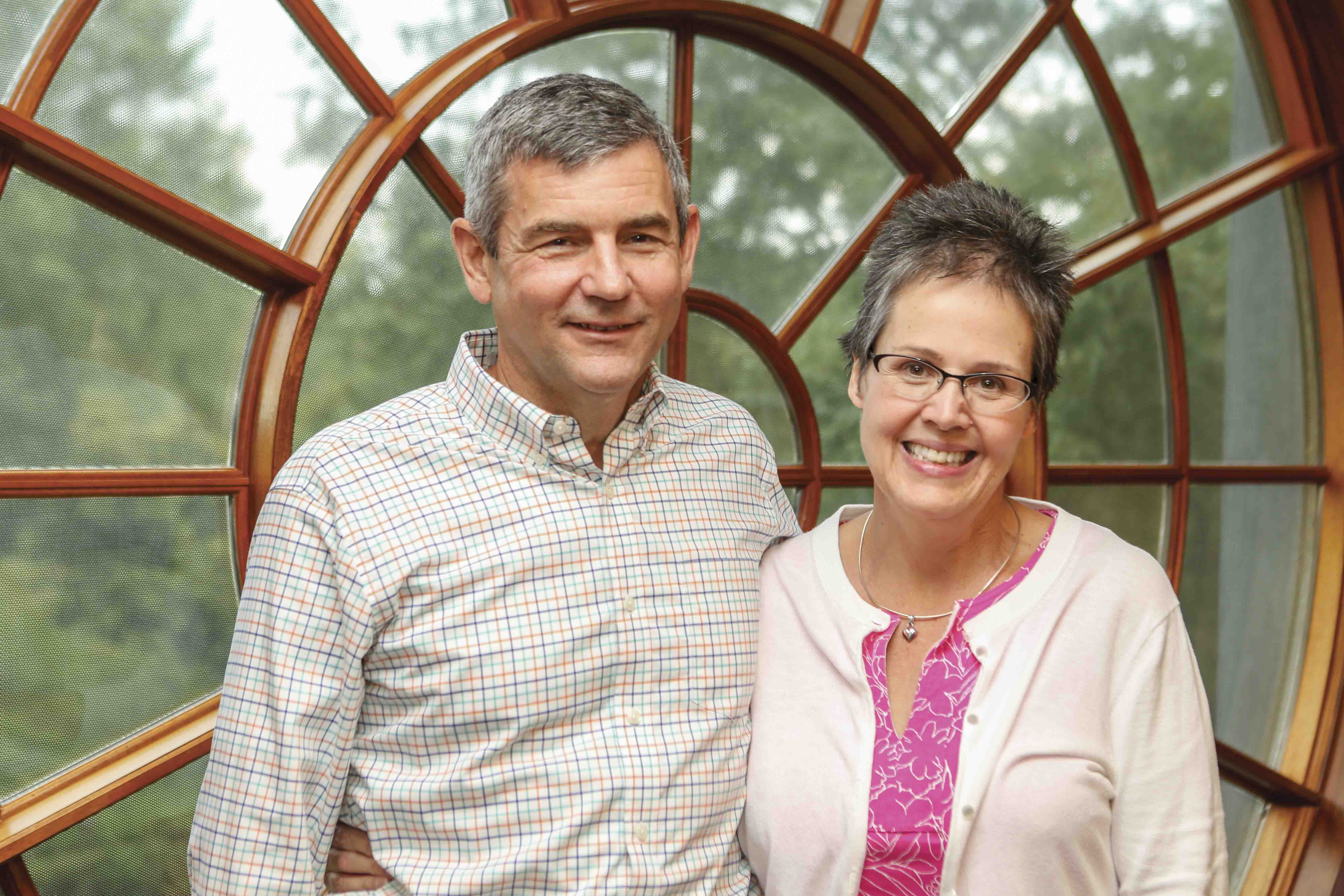 BENEFACTORS: Mike Petters M.B.A. '93 and Nancy Briggs Petters '81 recently provided a $1 million gift to Camp Launch to support the program going into the future.