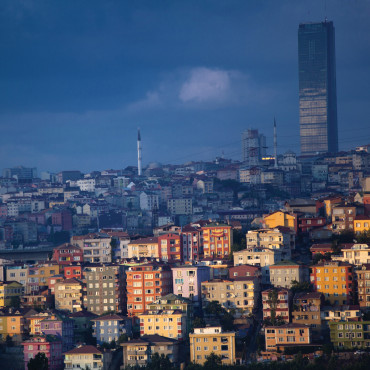 THE CITY: Istanbul stretches up hills and aside coves along the Bosporus Strait