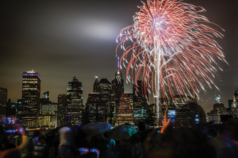 LIGHT SHOW: This past summer, the Macy's Fireworks Show celebrated its 40th anniversary. It was also Schermerhorn's last year working on the program.