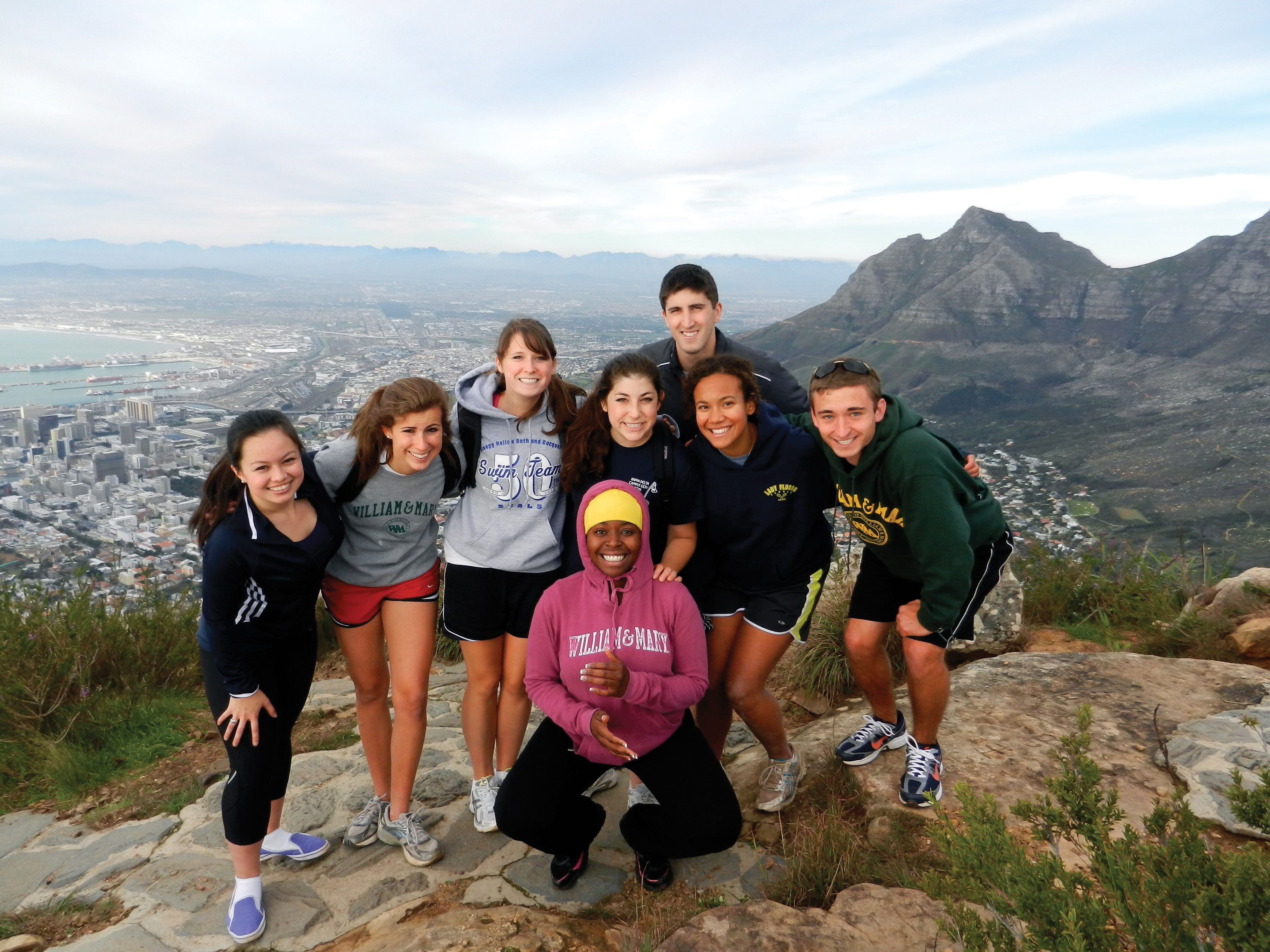 TRIBE ON TOP: There are more than 35 study-abroad programs at William & Mary, reaching 23 countries. W&M is No. 1 among public schools for under-graduate study-abroad.