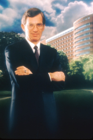 DIRECTOR DEVITA: DeVita stands for his official portrait after being appointed director of the National Cancer Institute by President Jimmy Carter 1980.