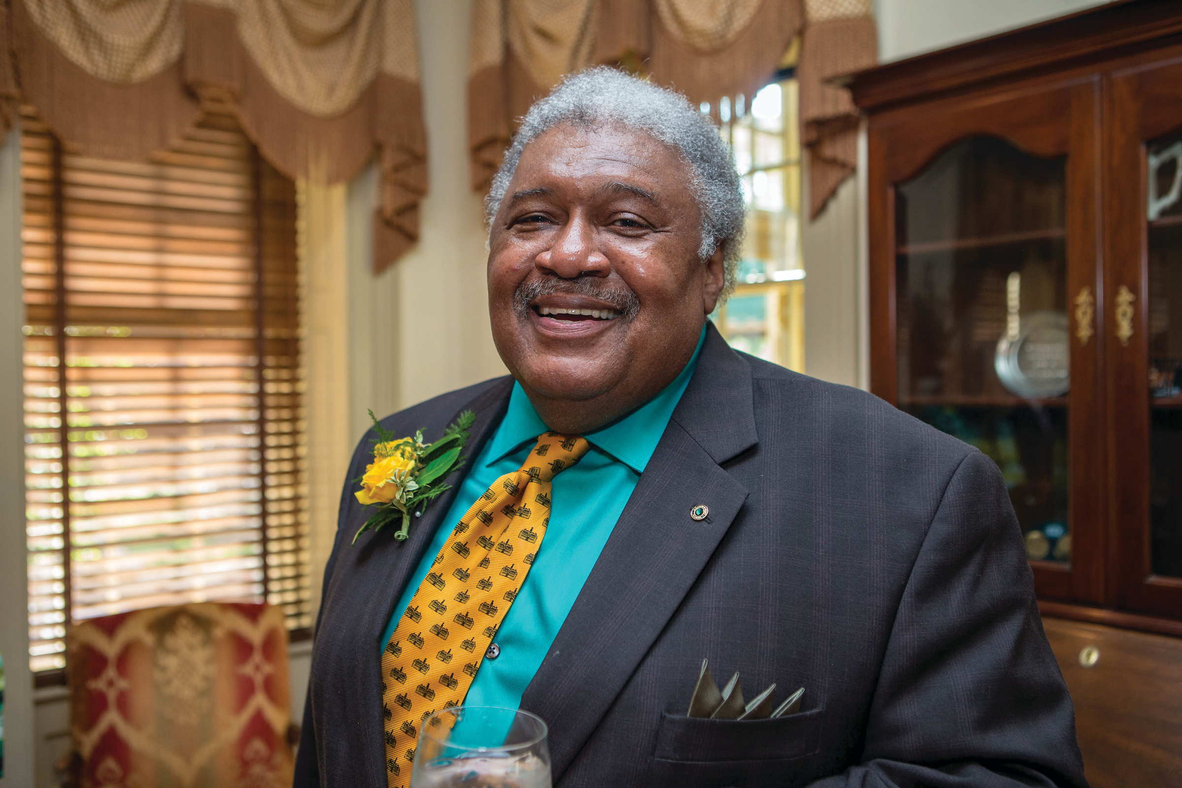 "TRIBE PRIDE: The Honorable John Charles Thomas said he feels ""such hope"" for the future of William & Mary."