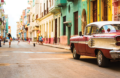 havana on my mind: The first port of call was Havana, where alumni and friends explored the restored colonial sector.