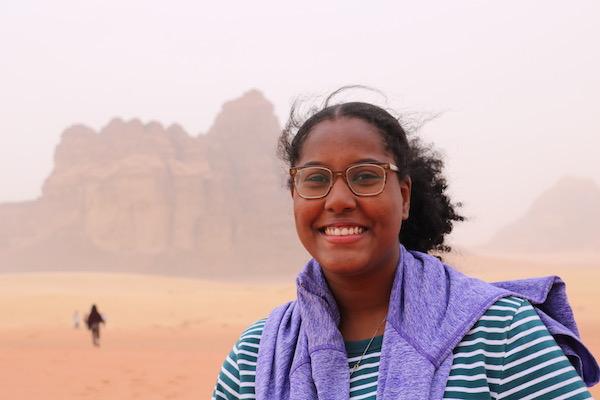 Dena Bashri '20 on her study abroad trip to Jordan