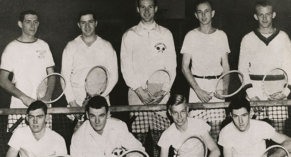 Remembering Fred Kovaleski '49, veteran, spy and tennis star