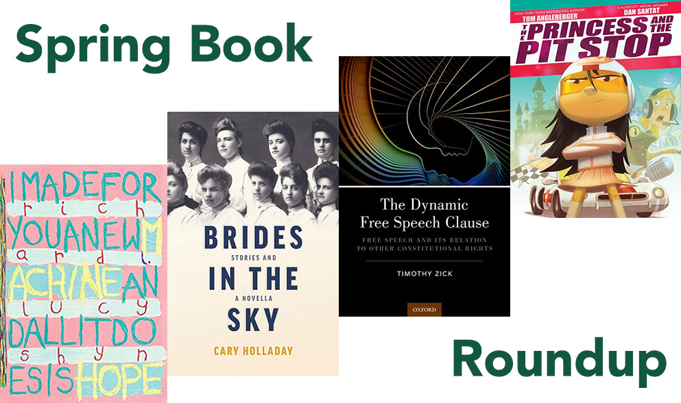 Everything's coming up books: The spring book roundup