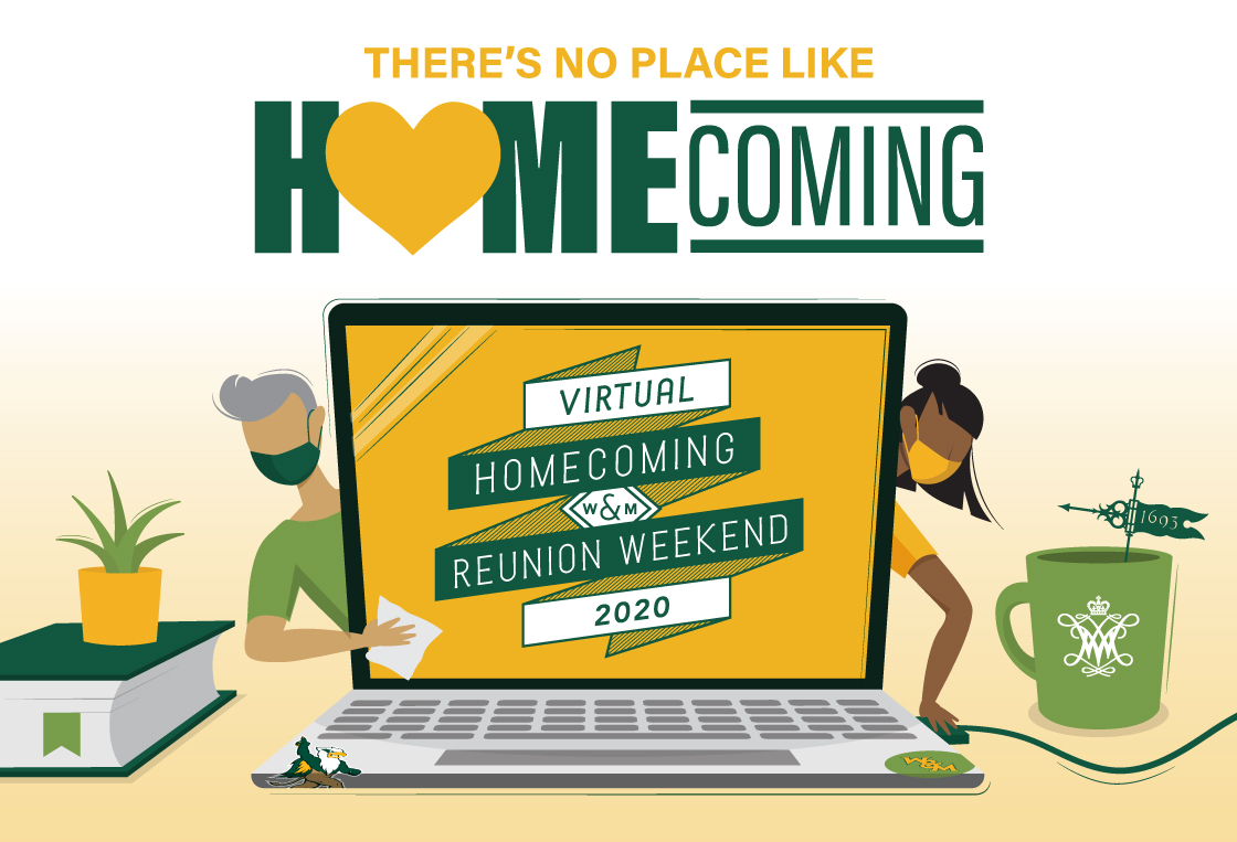 Virtual Homecoming Brings William & Mary to Homes Worldwide